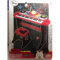 Órgano Musical Con Banco Mickey Envio Sin Cargo Todo El Pais