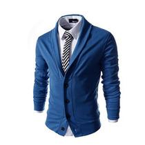 Sweater Estilo Saco Blazer Caballero Slim Fit Moda Elegante