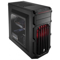 Gabinete Mid Tower Corsair Carbide Spec-03 Led Vermelho
