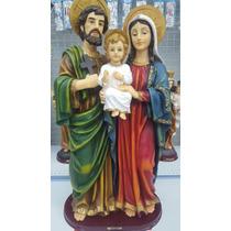Imagem Sagrada Família 40 Cm Resina Di Ângelo 556 33268