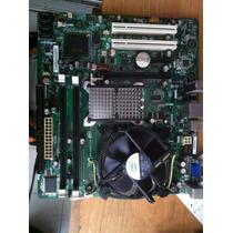 Combo Tarjeta Madre Intel 775 Con Cpu Intel E7500 Y 2gb Ram