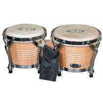 Bongos Percusión Cabezales Ajustables