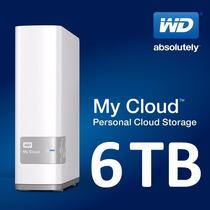 Wd My Cloud 6tb Disco Externo De Red Nas Todo En Tu Nube !