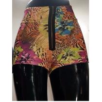Short Cintura Fashion Zipper Strech T= S/m Primavera Verano