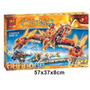 Chima, Flying Phoenix Fire Temple, Mod Lego, 70146, Marca Be