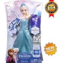 Boneca Princesa Elza Frozen Canta Let It Go .p/entrega