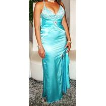 Vestido Largo De Fiestas .15 Años ,bodas ,graduaciones