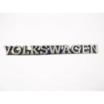 Emblema Letrero Volkswagen Plastico