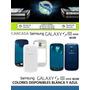 Carcasa Samsung Galaxy S3 Mini I8190 Blanco Azul Originales