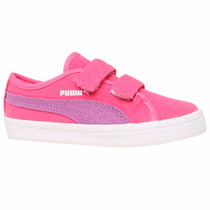 Tenis Elsu F Canvas V Kinder - Fit Para Niña 06 Puma 358039