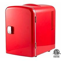 Frigobar Mini Refrigerador Personal Para 6 Latas Portatil