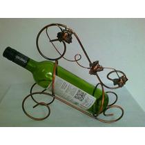 Suporte Porta Bebidas Metal Adega Cor Cobre Vinho Wisk