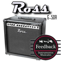 Ross G-50r - Amplificador P/guitarra 50 Watts