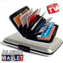 Lote 10 Aluma Wallet De Aluminio, Inicia Tu Propio Negocio!