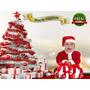 Plantillas De Navidad Para Fotomontajes, Fondos, Trajes.
