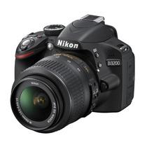 Nikon D3200 24.2 Mp Lente 18-55mm Full Hd