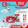 Hello Kitty Lonchera De Lata + 8 Muñecos Colección