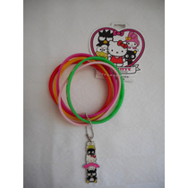 Seis Pulseras Hello Kitty 40 Aniversario, Envio Gratis