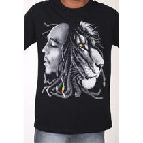 Camiseta - Bob Marley - Reggae