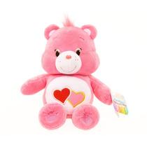 Linda Pelúcia Ursinhos Carinhosos Cor Rosa Amor 20cms