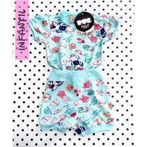 Pijama Infantil Bebê Puc Promoção Ponta De Estoque