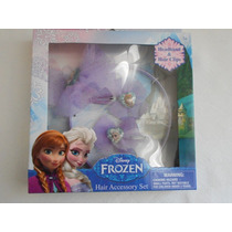Set Para El Cabello Disney Frozen! Oferta, Regalo