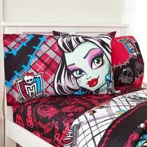 Monster High Sábanas Frankie Stein Draculaura Varios Modelos