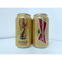 Lata Cerveja Budweiser Rise As One Copa 2014 - Vazia