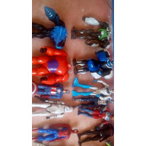 Marvel Spiderman,max Steel,star Wars Lote 21 Piezas