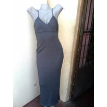 Vendo Vestido Largo Stress Talla L