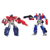 Transformers Then & Now - Optimus Prime - Hasbro A7745