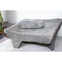 Metate Antiguo De Piedra