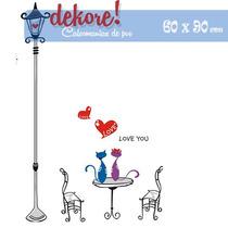 Noche De Amor Sticker Decorativo... Dekore!