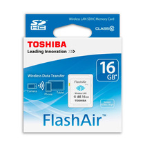 Memoria Sd 16gb Clase 10 Wifi Toshiba Flashair Sd-f08air03