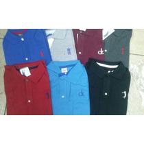 Camisetas Polo Kit C/3 Camisas De Marcas + Frete Grátis Nova