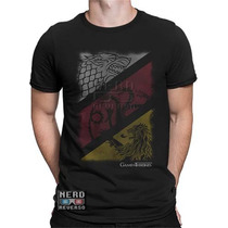 Camisa, Camisetas Game Of Thrones Targaryen Lannister Stark