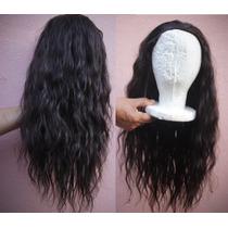 Half Wig - Meia Peruca De Cabelo Humano - 54cm