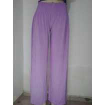 Calça Pantalona Em Malha Macia Boa Qualidade Veste No P-m-g