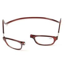 Óculos (+2,5) C/imã Magnético Novela Salve J Csy Ny 3 Cores