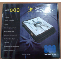 Planta O Amplificador Sound Barrier 800 Watts 2 Canales