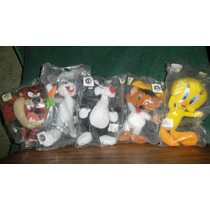 Looney Tunes Peluches Colección Mc Donalds 5 Unid. Nuevos