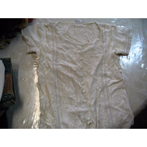 Lote Dos Blusas Camisa Blanca Beige Y Blanca Indu Entallada
