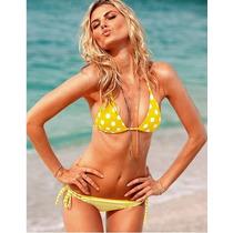 Bikini Victorias Secret Lunares Importada Verano Exclusiva