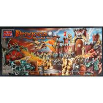 Dragons Krystal War Set Gigante Draigar Castle Mega Bloks