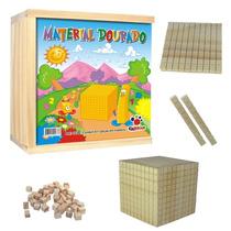 1038 - Material Dourado Professor 611 Pçs