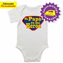 Bodys Bebes Calcomanías Personalizadas Feliz Día Papá