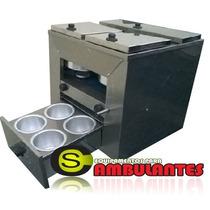 Modulo Hot Dog 9 Molheiras P/trailer Cozinhas Ambulantes Lux