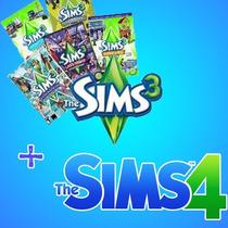 The Sims 3 + Ts 4 + Medval + Expansões + Frete Grátis Brasil