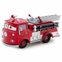 Disney Pixar Cars Red Ruivo Bombeiro Metal Fundido 1:55