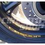 4 Adesivos Roda Tanque Refletivo Moto Honda Hornet Cb 600 F